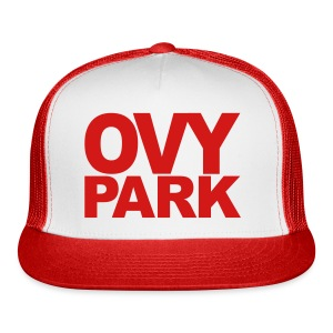 Ovy Park Trucker Hat (Red) - Trucker Cap
