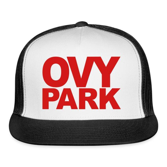 Ovy Park Trucker Hat (Red)