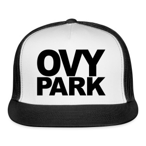 Ovy Park Trucker Hat (Black) - Trucker Cap