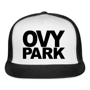 Ovy Park Trucker Hat (Black) - Trucker Cap