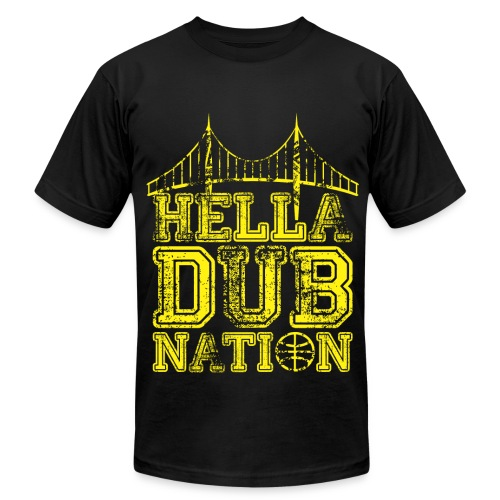 Hella Dub Nation - Men's Fine Jersey T-Shirt