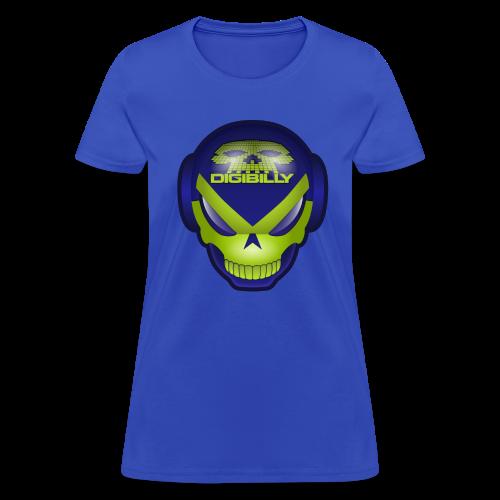 Women's Digi Death Mask T - Women's T-Shirt