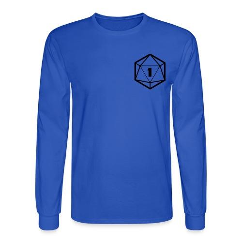 Minimalist Die Long-sleeve T-shirt - Men's Long Sleeve T-Shirt