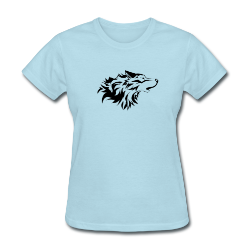 Wolfe Pack (Logo Only - Ladies) - Women's T-Shirt