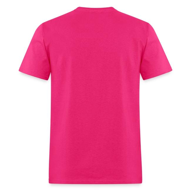 FU@K CANCER T-SHIRT pink/black