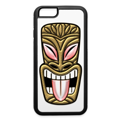 Laughing Gold Tiki - iPhone 6/6s Rubber Case