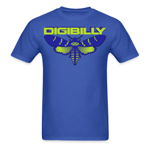 Men's Digi Death Moth T - Men's T-Shirt