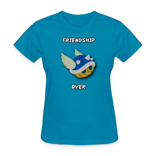 Friendship Over (Ladies) - Women's T-Shirt