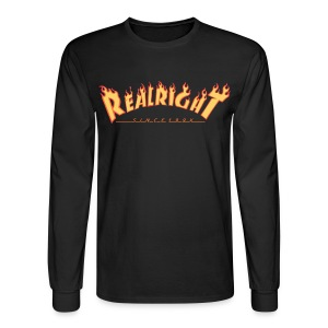 Thrashin' Thru long sleeve - Men's Long Sleeve T-Shirt