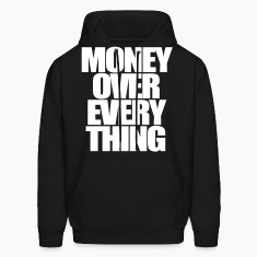 Money Over Everything Hoodies - stayflyclothing.com