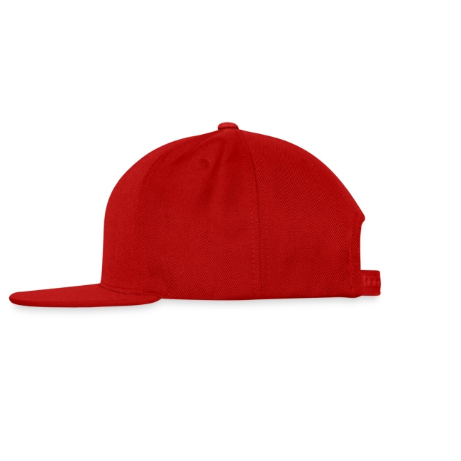 LUST LIFE LABEL SNAPBACK HATS RED