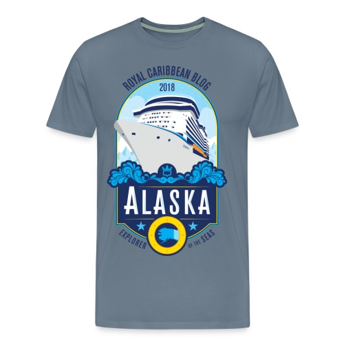 Alaska Group Cruise Men's Shirt - Men's Premium T-Shirt