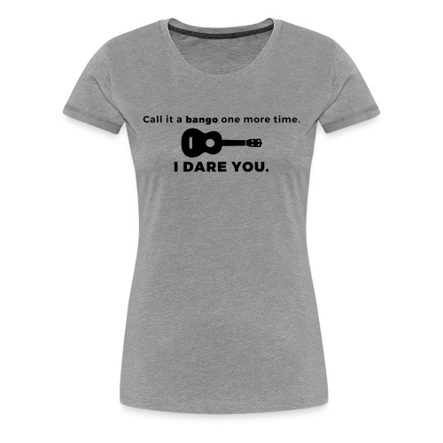Ukulele Banjo Women's Shirt - Women's Premium T-Shirt