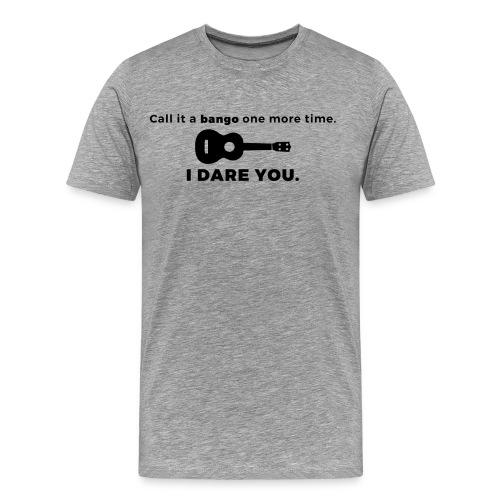 Ukulele Banjo Men's Shirt - Men's Premium T-Shirt