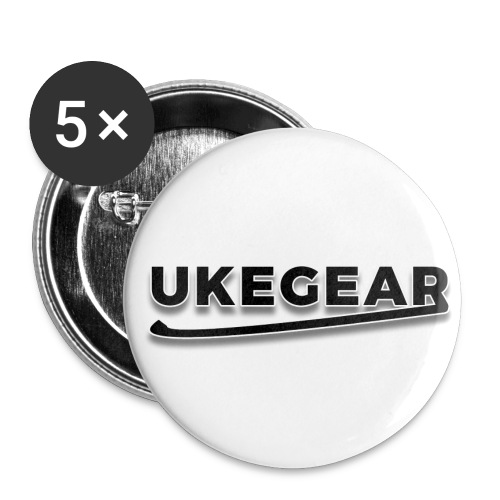 UkeGear Pins - Small Buttons