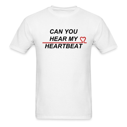 Men's T-Shirt - love,kpop,heartbeat,2pm
