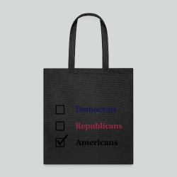 Election Ballot - Americans - Tote Bag