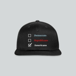 Election Ballot - Americans - Snap-back Baseball Cap