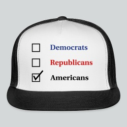 Election Ballot - Americans - Trucker Cap
