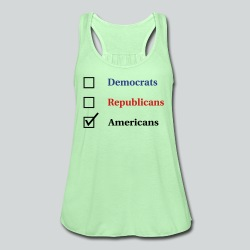 Election Ballot - Americans - Women's Flowy Tank Top by Bella