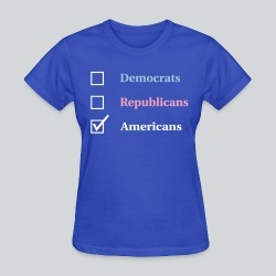 Election Ballot - Americans - Women's T-Shirt