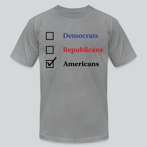 Election Ballot - Americans - Men's  Jersey T-Shirt