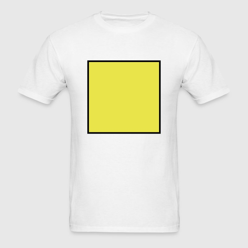 Square shape - Men's T-Shirt