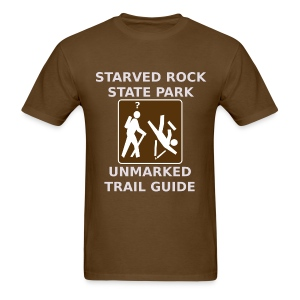 Starved Rock Trail Guide - Men's T-Shirt