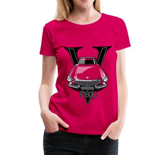 Swedish 1800P Vintage Sports Car Retro Print - Women's Premium T-Shirt