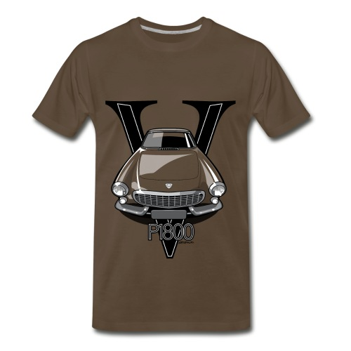 Swedish 1800P Vintage Sports Car Retro Print - Men's Premium T-Shirt