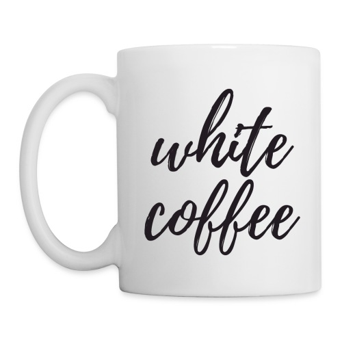 White Coffee - Coffee/Tea Mug