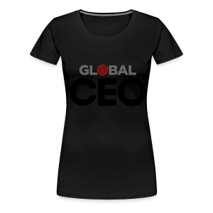 Slimmer Fit Global CEO - Women's Premium T-Shirt