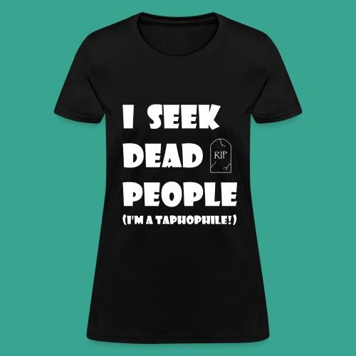 Women's Taphophile T-shirt - Women's T-Shirt