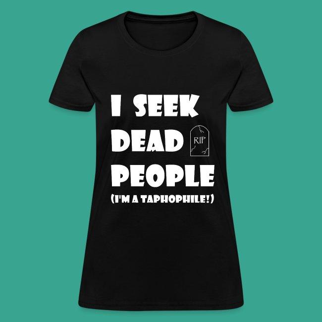 Women's Taphophile T-shirt