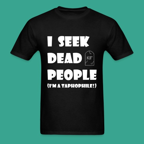 Men's Taphophile T-shirt - Men's T-Shirt