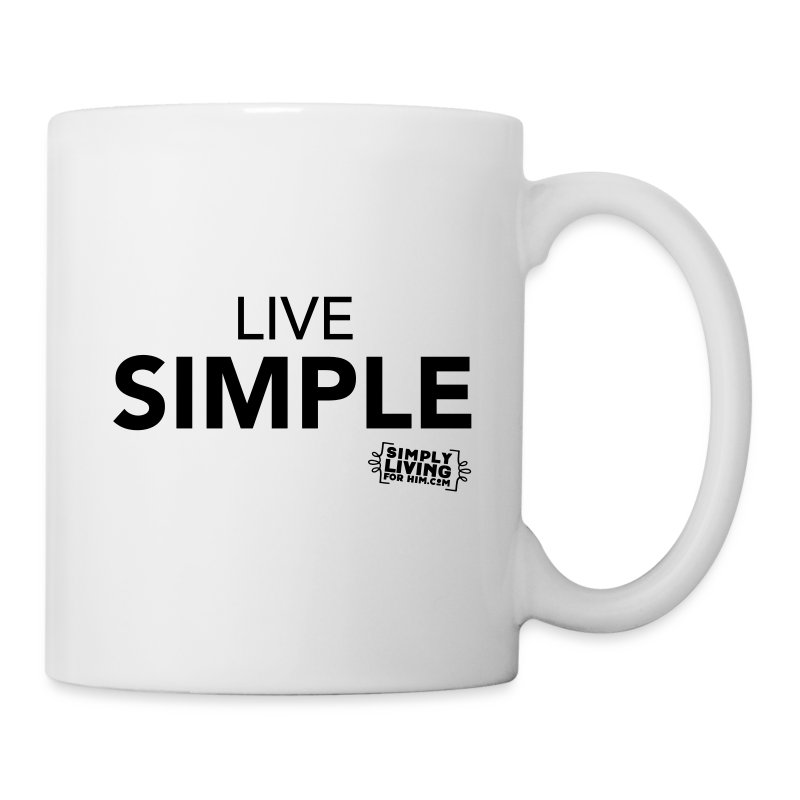 LiveSimple - Coffee/Tea Mug