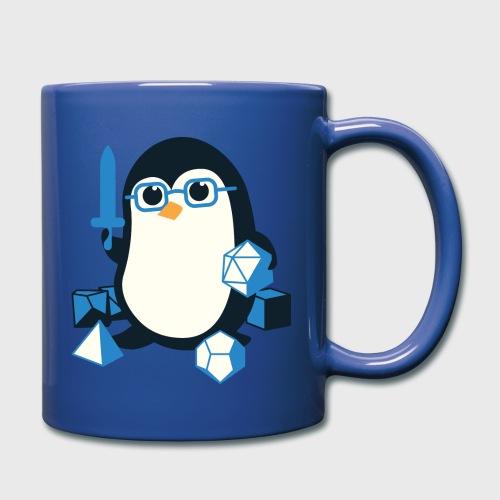 Penguin Dungeons & Dragons Fantasy Dice - Full Color Mug