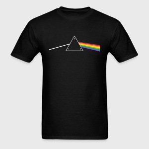 d4 Side of the Moon Dungeons & Dragons Pink Floyd Parody - Men's T-Shirt
