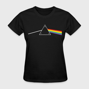 d4 Side of the Moon Dungeons & Dragons Pink Floyd Parody - Women's T-Shirt