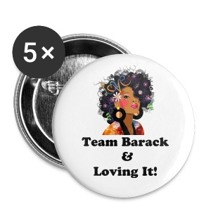 SN&LI! Team Barack - Large Buttons