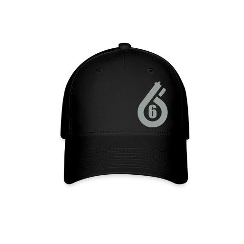 FLEX FIT Hat grey lettering you pick color hat - Baseball Cap