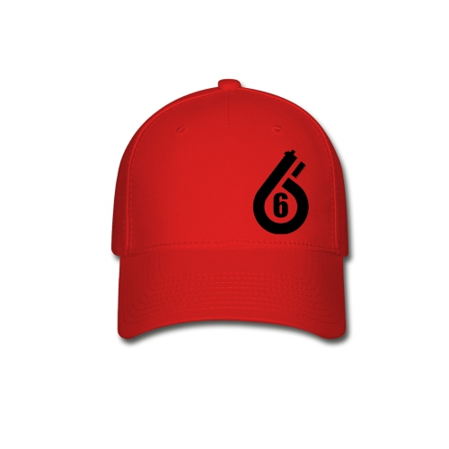 Flex Fit Hat black lettering you pick hat color - Baseball Cap