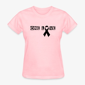 One Love - Light Pink T-Shirt - Women's T-Shirt