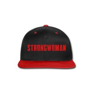 STRONGWOMAN Snap Back  - Snap-back Baseball Cap