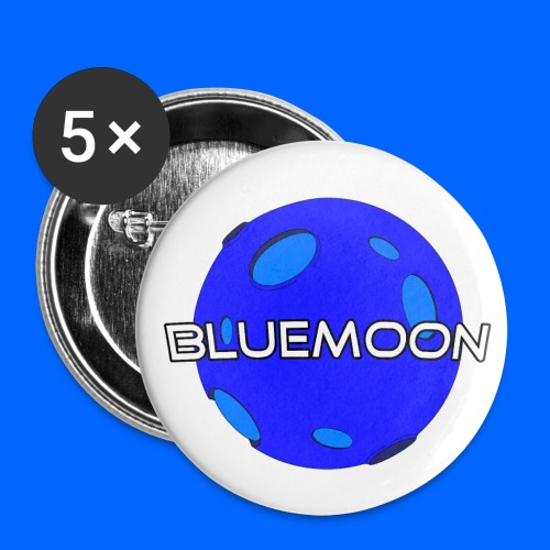 BlueMoon Small Pins Mid 2017 | Merch - Small Buttons