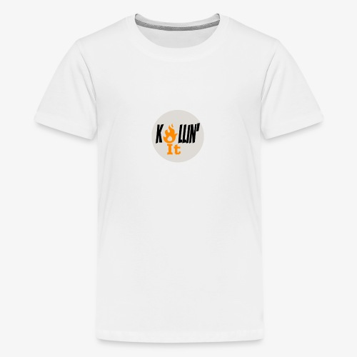 Killin' It Kids T-shirt White - Kids' Premium T-Shirt