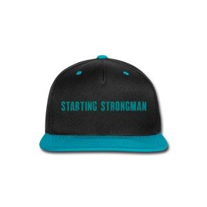 STARTING STRONGMAN Snap Back - Snap-back Baseball Cap