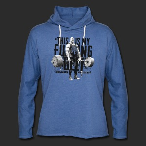 THIS IS MY FUCKING BELT - Unisex Lightweight Terry Hoodie