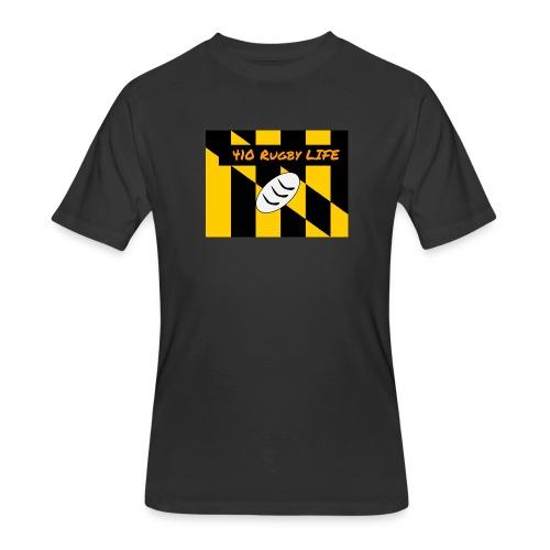 Mens Black 410 Baltimore Graphic T-Shirt - Men's 50/50 T-Shirt