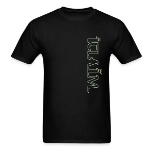 ICLAIM Light In The Darkness T-Shirt (Glow in the dark) - Men's T-Shirt